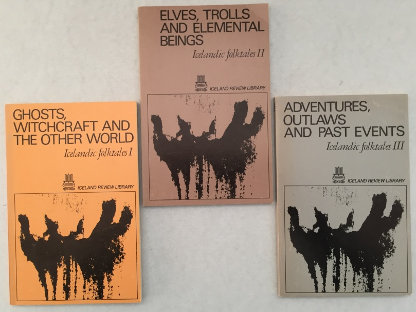 ICELAND REVIEW - - Icelandic folktales. I. Ghosts, whichcraft and the other world; II. Elves, trolls and elemental beings; III. Adventures, outlaws and past events. [Vol I, II, III, complete]